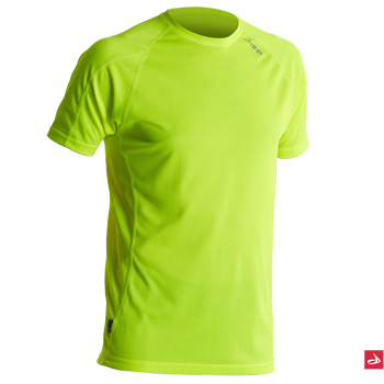Dhb Corefit Short Sleeve Hi Viz Base Layer
