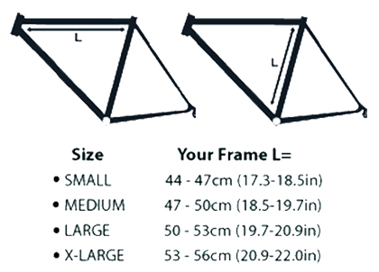 Impero Ultimate Frame Pump Size Chart