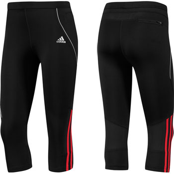 Adidas Ladies Response DS 3 4 Running Tight SS12 Tights Run