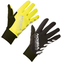 Night Vision Windproof Winter Cycling Gloves