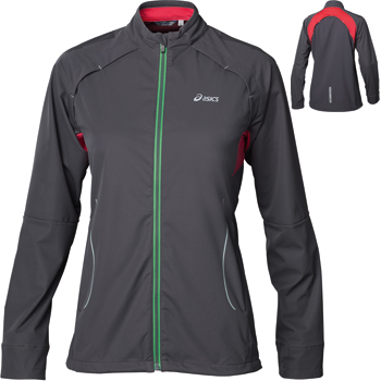 Asics Ladies Trail Jacket SS12 Jackets Run Windproof