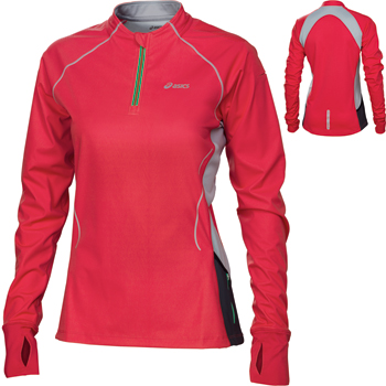 Asics Ladies Trail Long Sleeve Zip Top SS12 Shirts Run LS