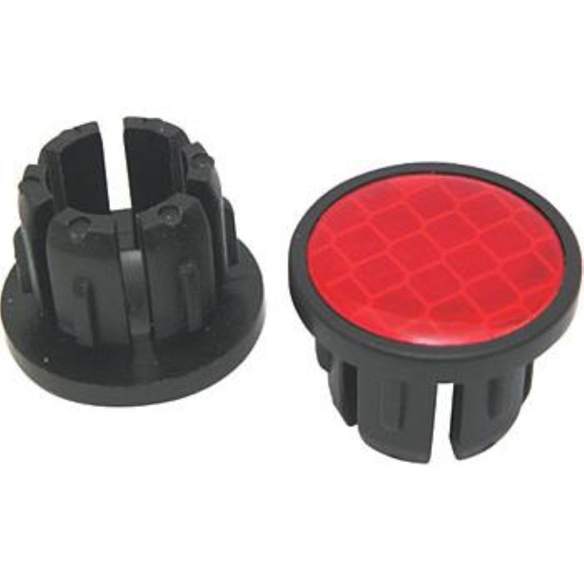 Bike Ribbon Reflective End Plugs