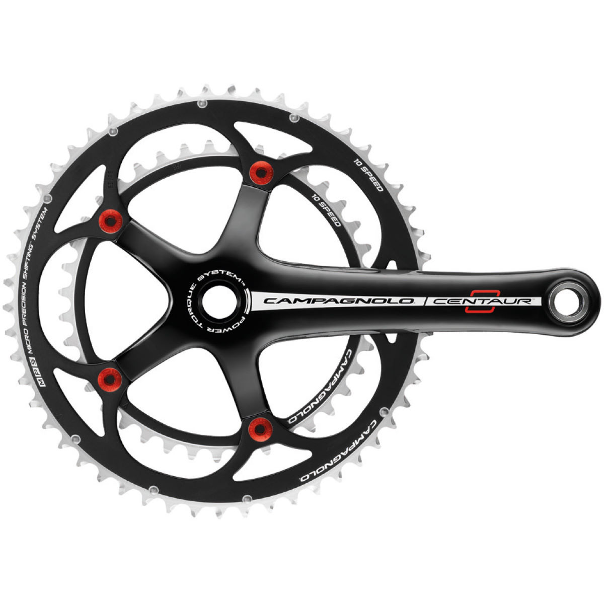 Campagnolo Centaur Red 10 Speed P-Torque Alloy Chainset