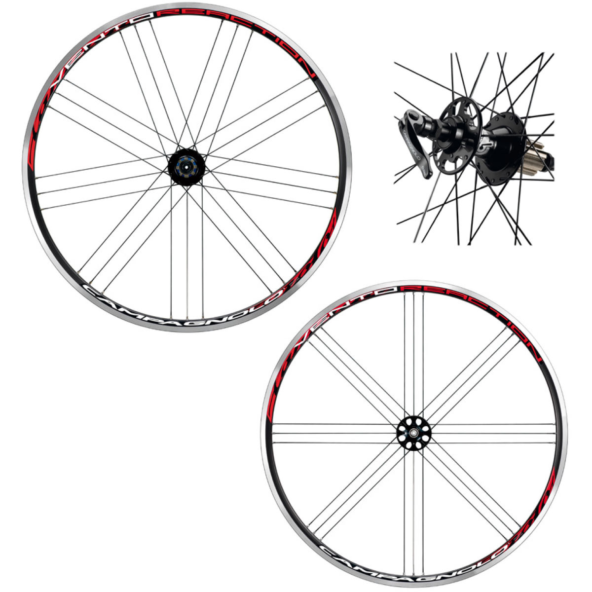 Campagnolo Vento Reaction Clincher Wheelset