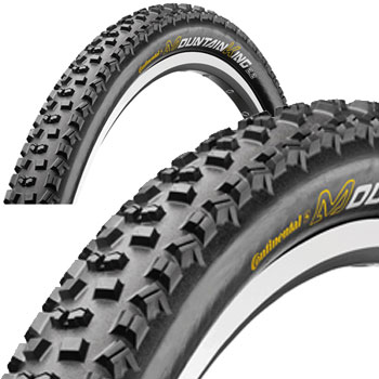 Continental Mountain King II UST Folding Tubeless MTB Tyre