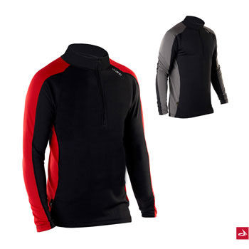 dhb Corefit Long Sleeve Zip Neck Base Layer