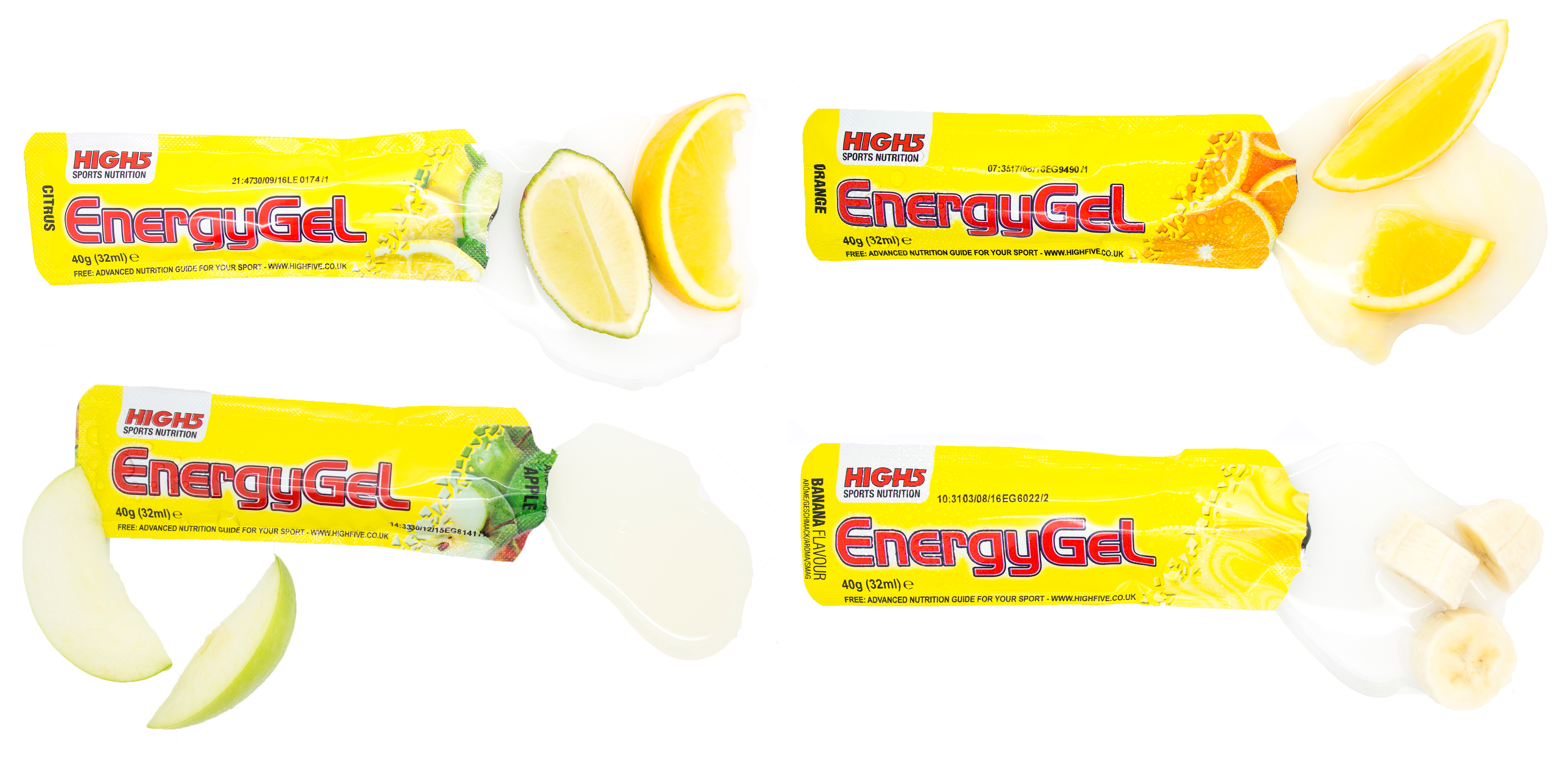 Review: High 5 EnergyGels and IsoGels | Run and Become ...