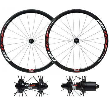 Fast Forward F4R Carbon Tubular Wheelset (Ceramic)