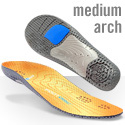 Support Insoles: (Yellow) AW10