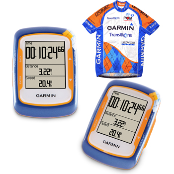 Garmin Edge 500 with Heart Rate, Cadence and Team Jersey