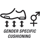 Gender Specific Cushioning