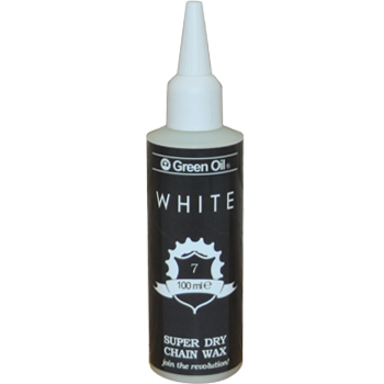 Green Oil White - Super Dry Chain Wax Lubricant