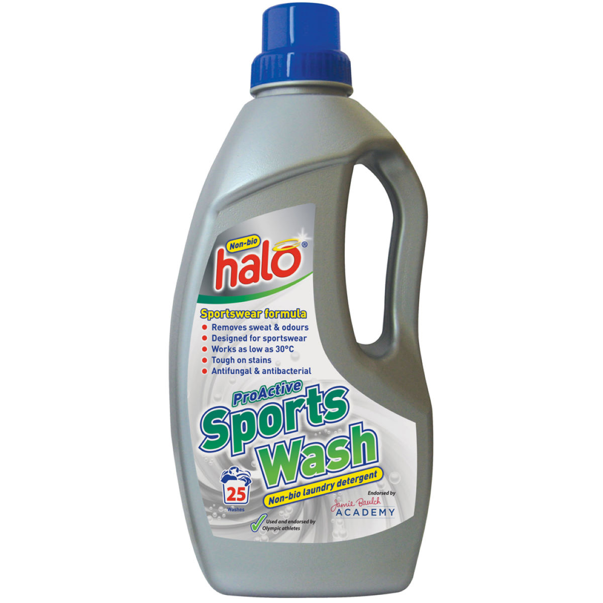 Halo Proactive Sports Wash Laundry Detergent - 1 Litre