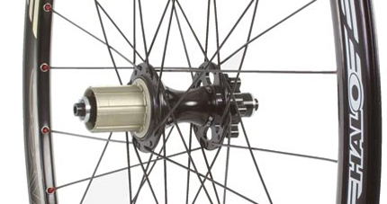 Halo Vapour rear hub