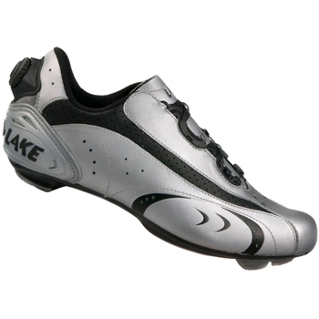 Lake CX170 Black/Silver Road Cycling Shoes
