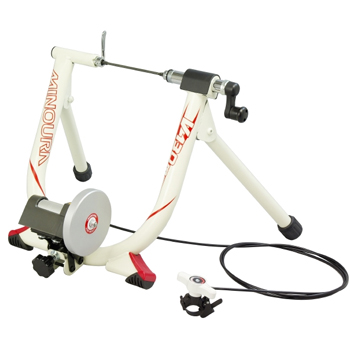 Minoura Gyro V130M Turbo Trainer with Remote (Black)