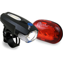 Spaceship Front and Red Planet Rear Light Set