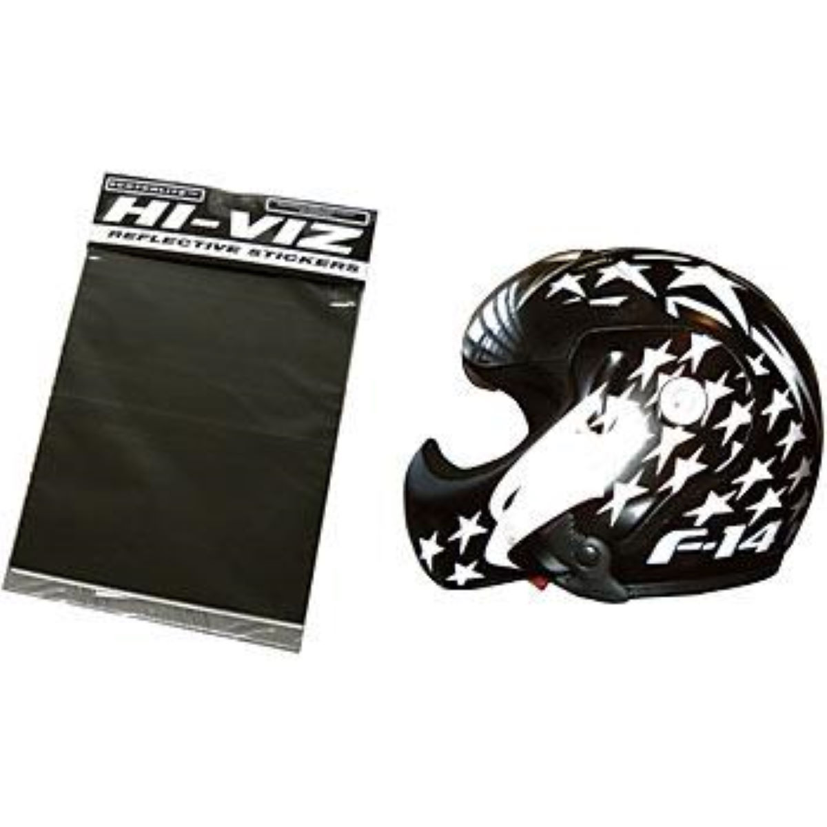 Respro Hi Viz Black Diamond Sticker Sheet
