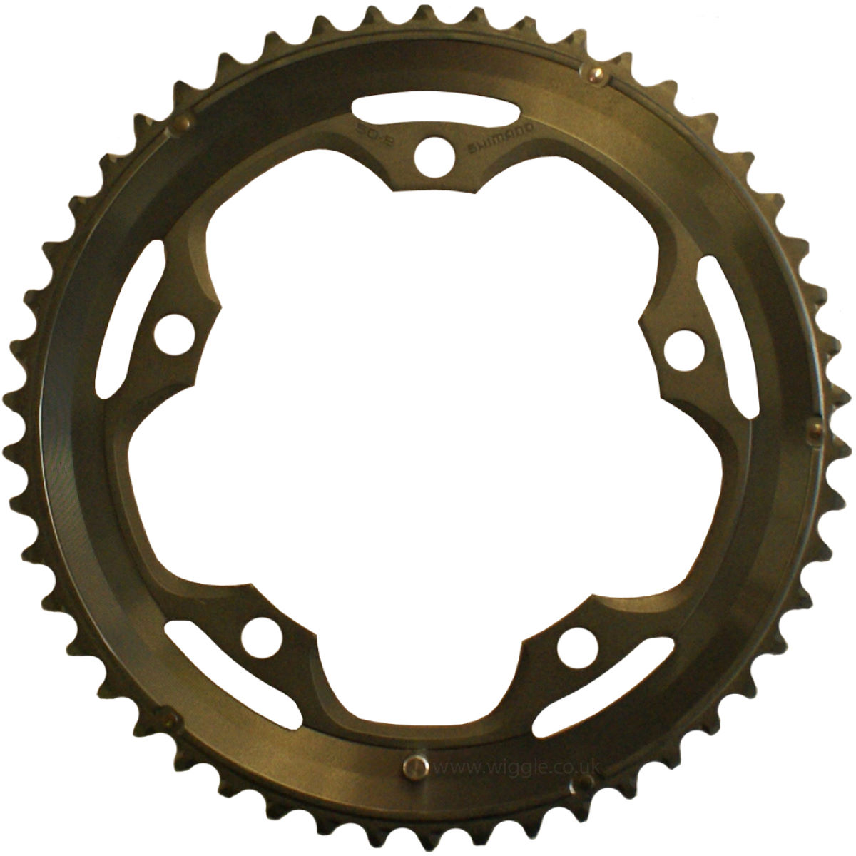 Wiggle Shimano 130 Pcd 105 5600 10 Speed Outer Chainring Internal Is The Available In Black