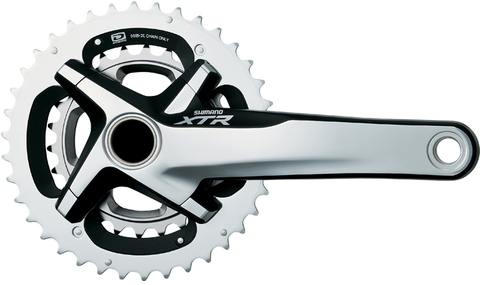 Shimano XTR M980 10 Speed Hollowtech II Double Chainset