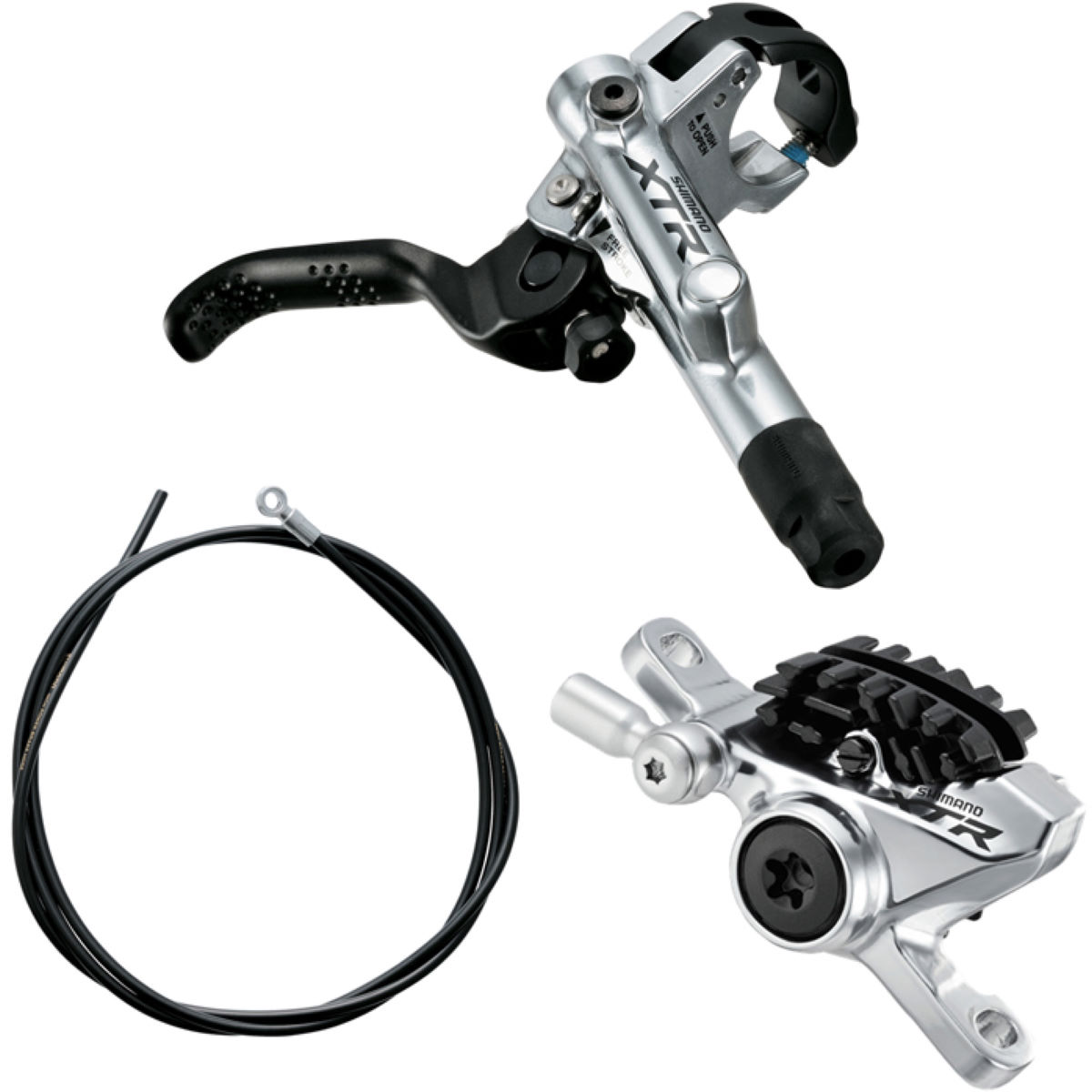 Shimano XTR M988 Trail Disc Brake Lever and PM Caliper