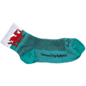 Classic Welsh Dragon Cycling Socks