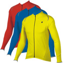 Solid Long Sleeve Cycling Jersey