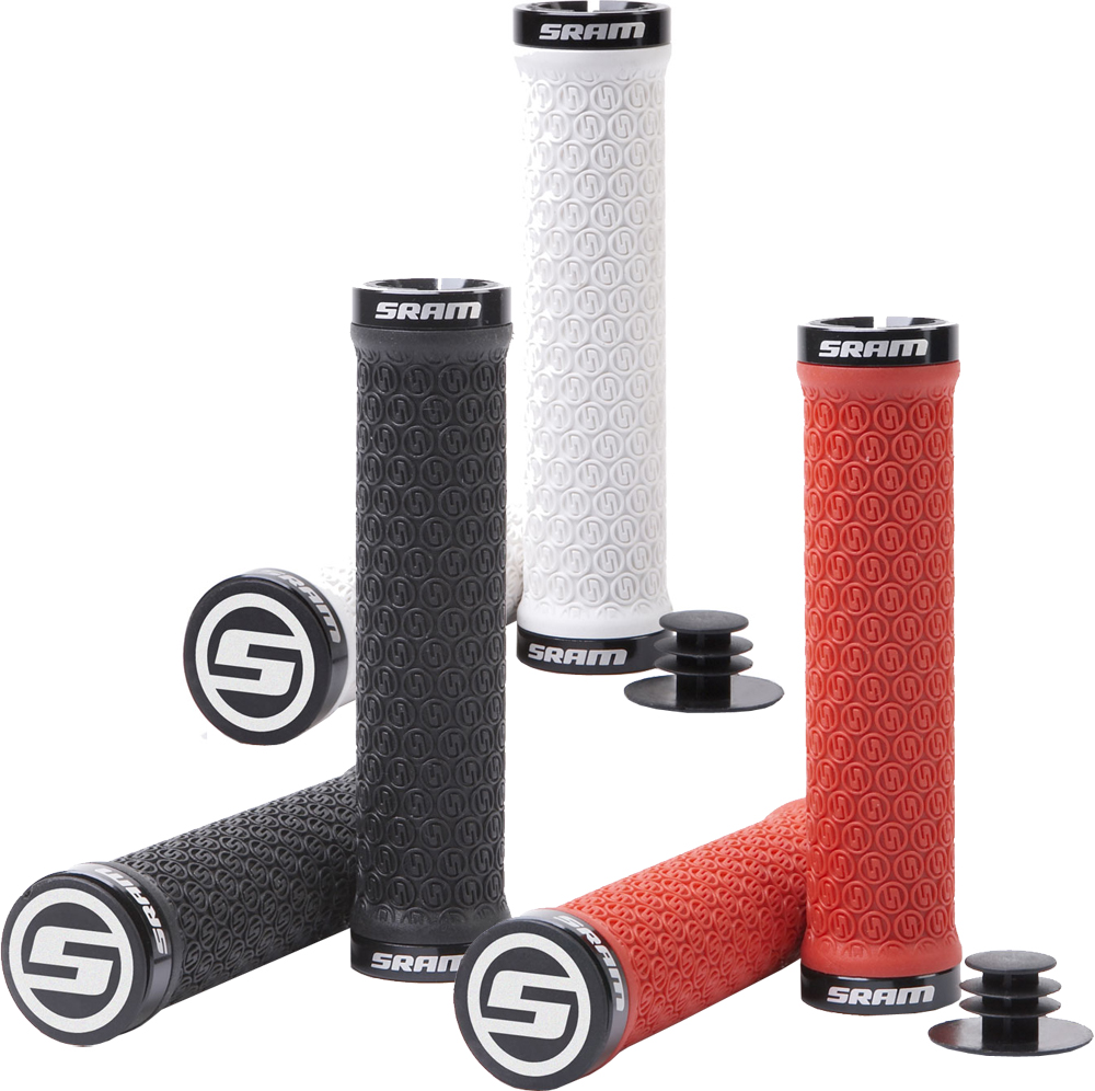 SRAM Locking Grips with Clamps and End Plugs