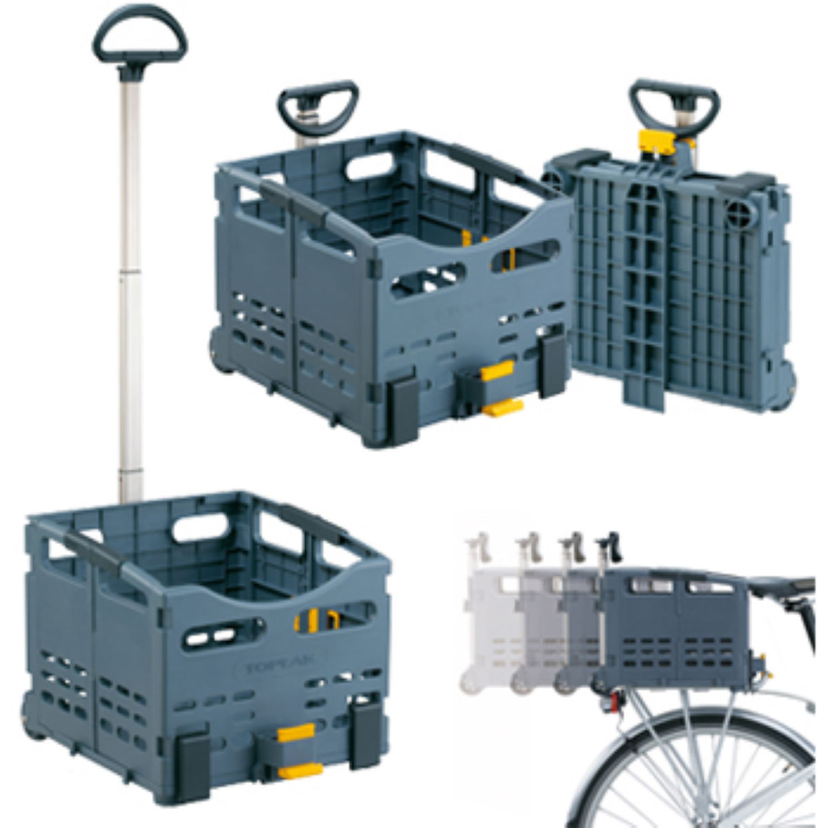 Topeak Trolley Tote Folding MTX Rear Basket