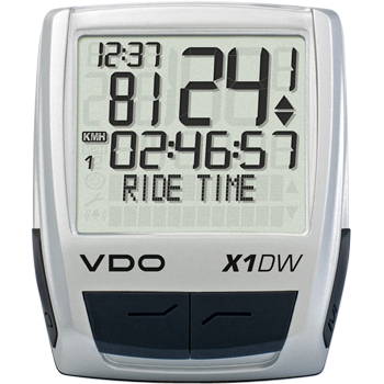VDO X1DW (Digital Wireless) Cycle Computer