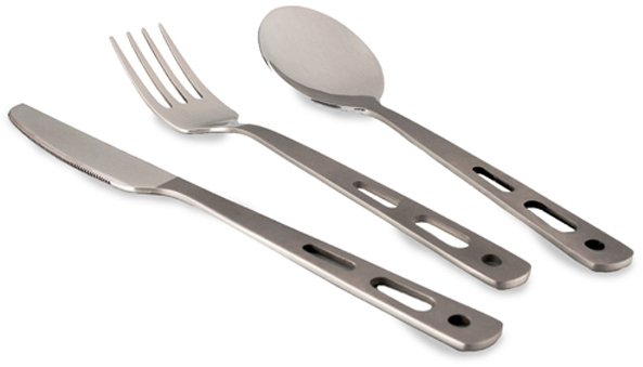 Lifeventure Stainless Steel Basic Cutlery Set