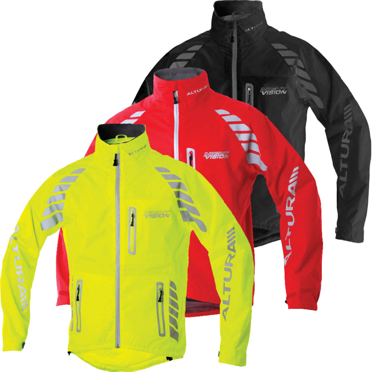 Altura Night Vision Evo Waterproof Cycling Jacket 2012