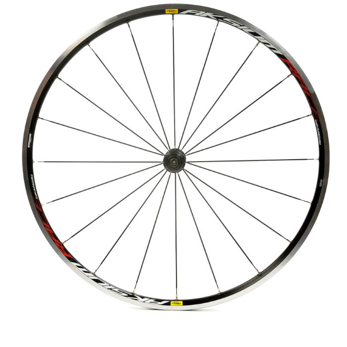 Aksium Black Clincher Wheelset