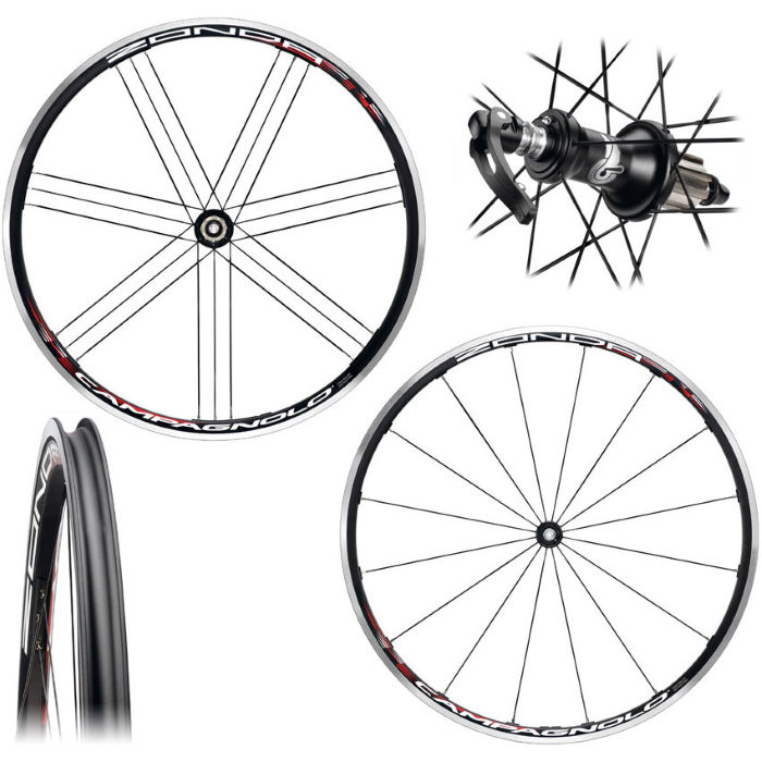 Zonda Clincher Road Bike Wheelset 2012