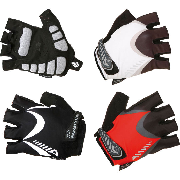 ProGel Asymetrix Mitts Short Finger Gloves - 2012