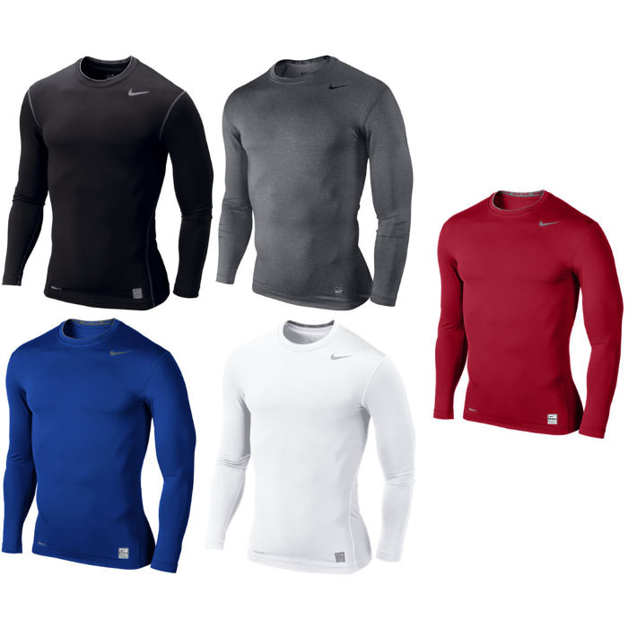 Pro Core Long Sleeve Tight Compression Crew AW12