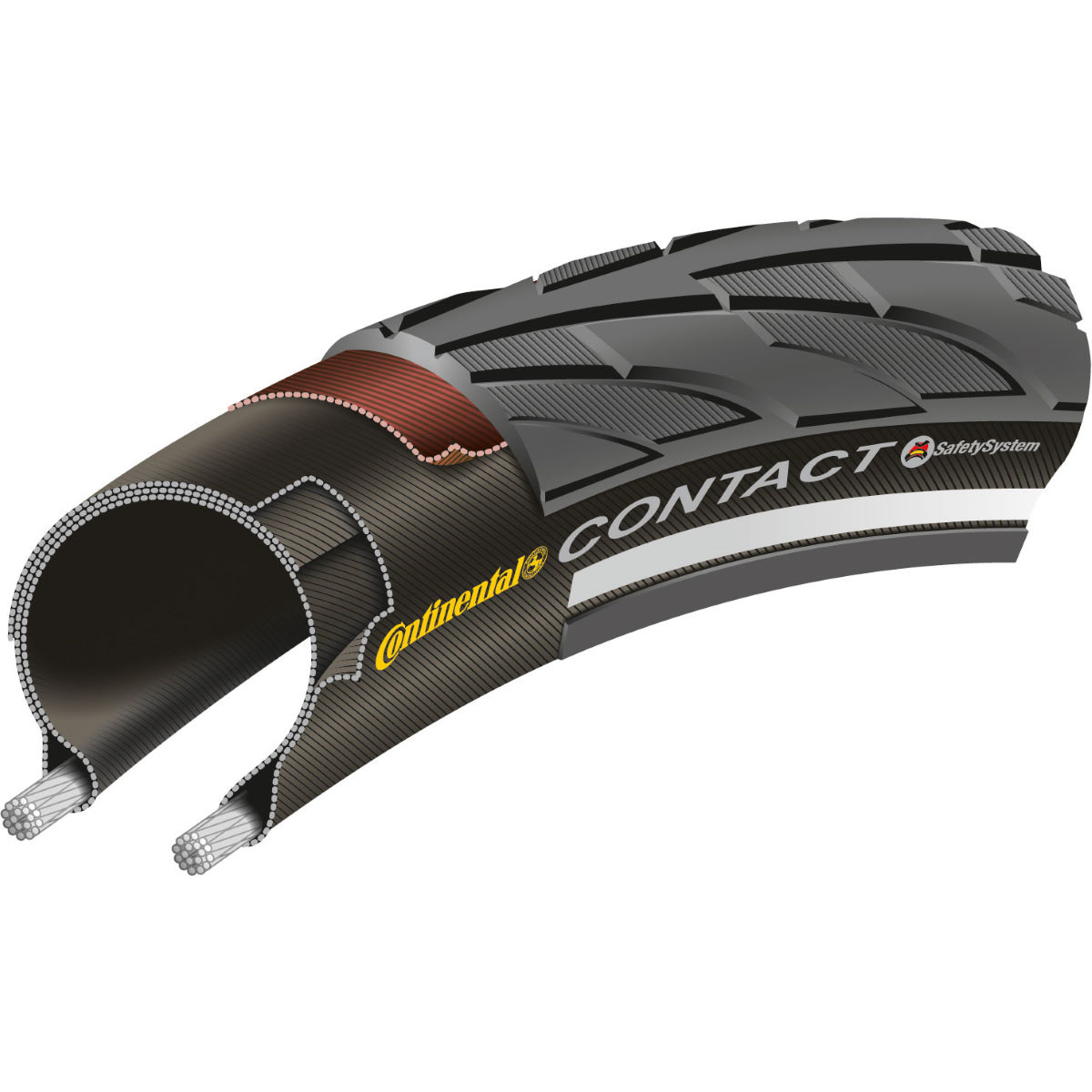 Continental Contact II Reflex City MTB Tyre