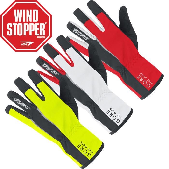 Power WINDSTOPPER Softshell Gloves - 2012