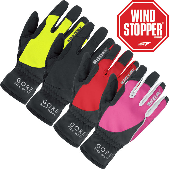 Ladies Power WINDSTOPPER Softshell Gloves - 2012