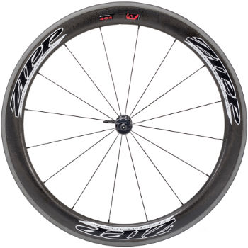 Zipp 404 Firecrest Clincher Front Wheel (Beyond Black)