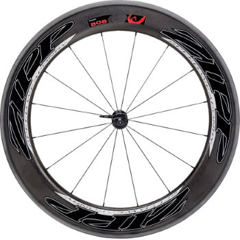 Zipp 808 Firecrest Tubular Front Wheel (Beyond Black)