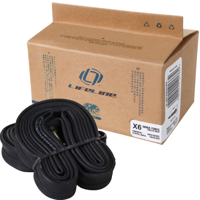 Essential Narrow Road Inner Tubes - 6 Pack