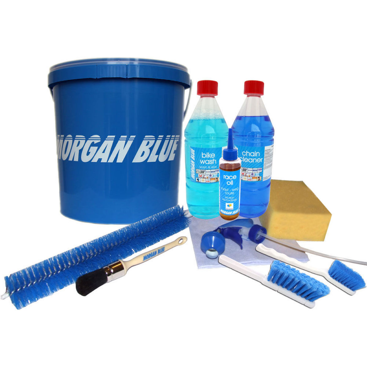 Morgan Blue Complete Maintenance Kit with Bucket