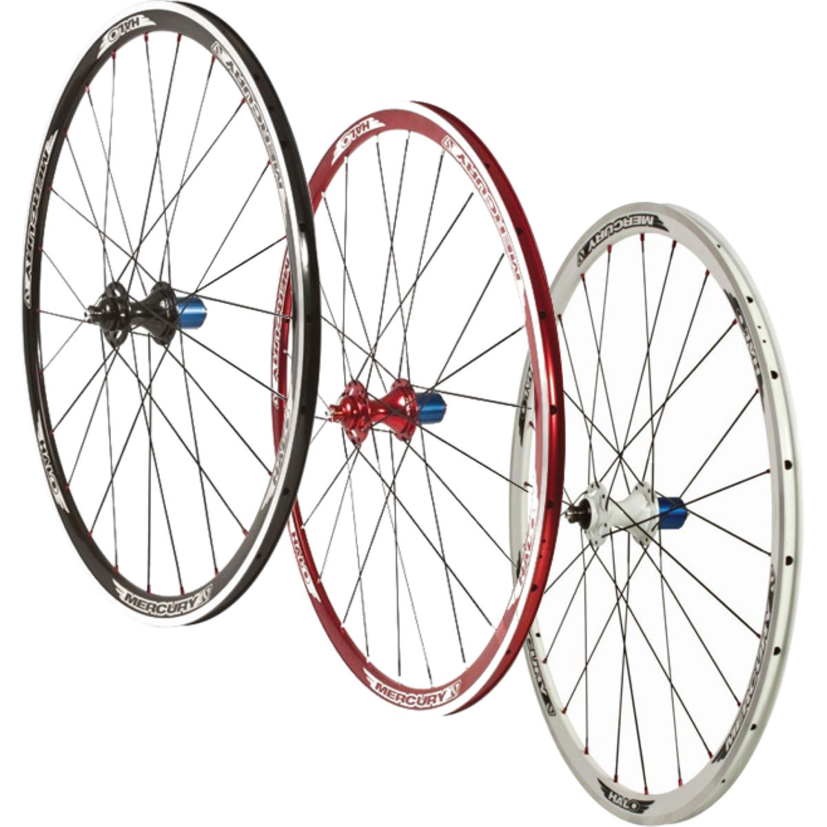 Halo Mercury Aero Race Clincher Rear Wheel