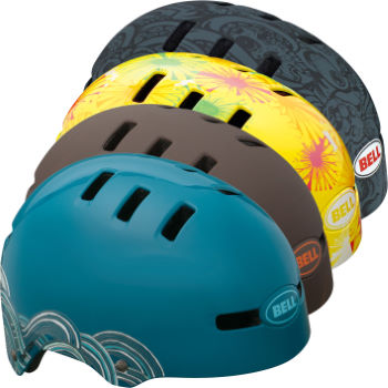 Bell Faction Graphics Helmet - 2012