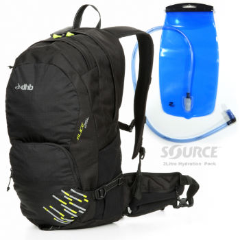 Luggit Slice 25L Rucksack with Hydration Pack