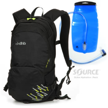 Luggit Slice 15L Rucksack with Hydration Pack