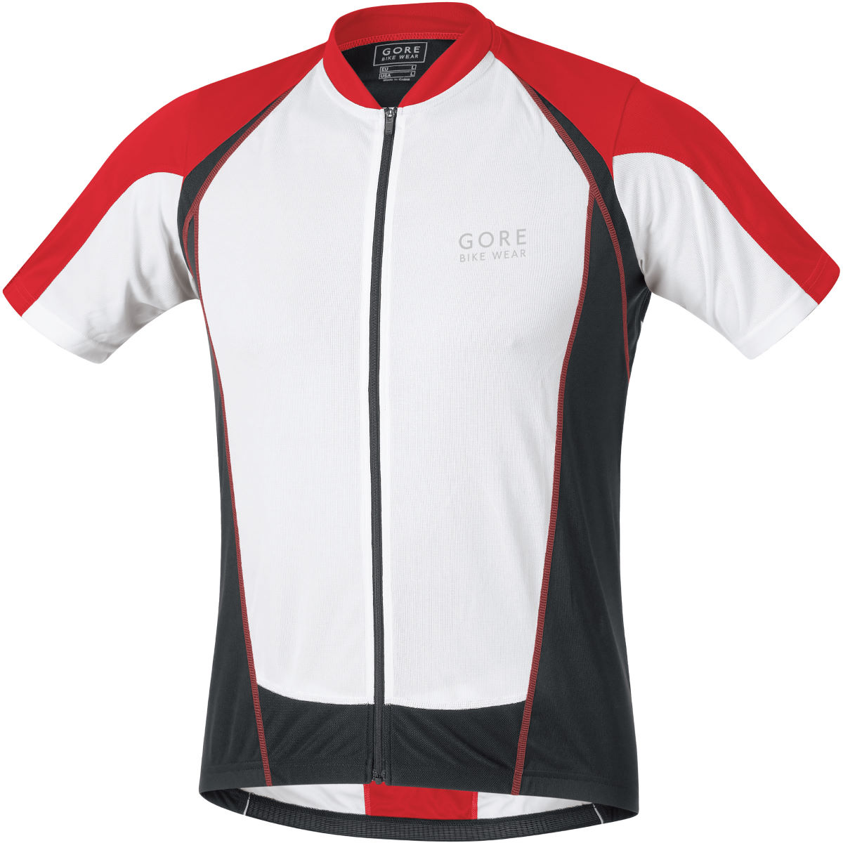 Gore Bike Wear Contest Full Zip Short Sleeve Jersey