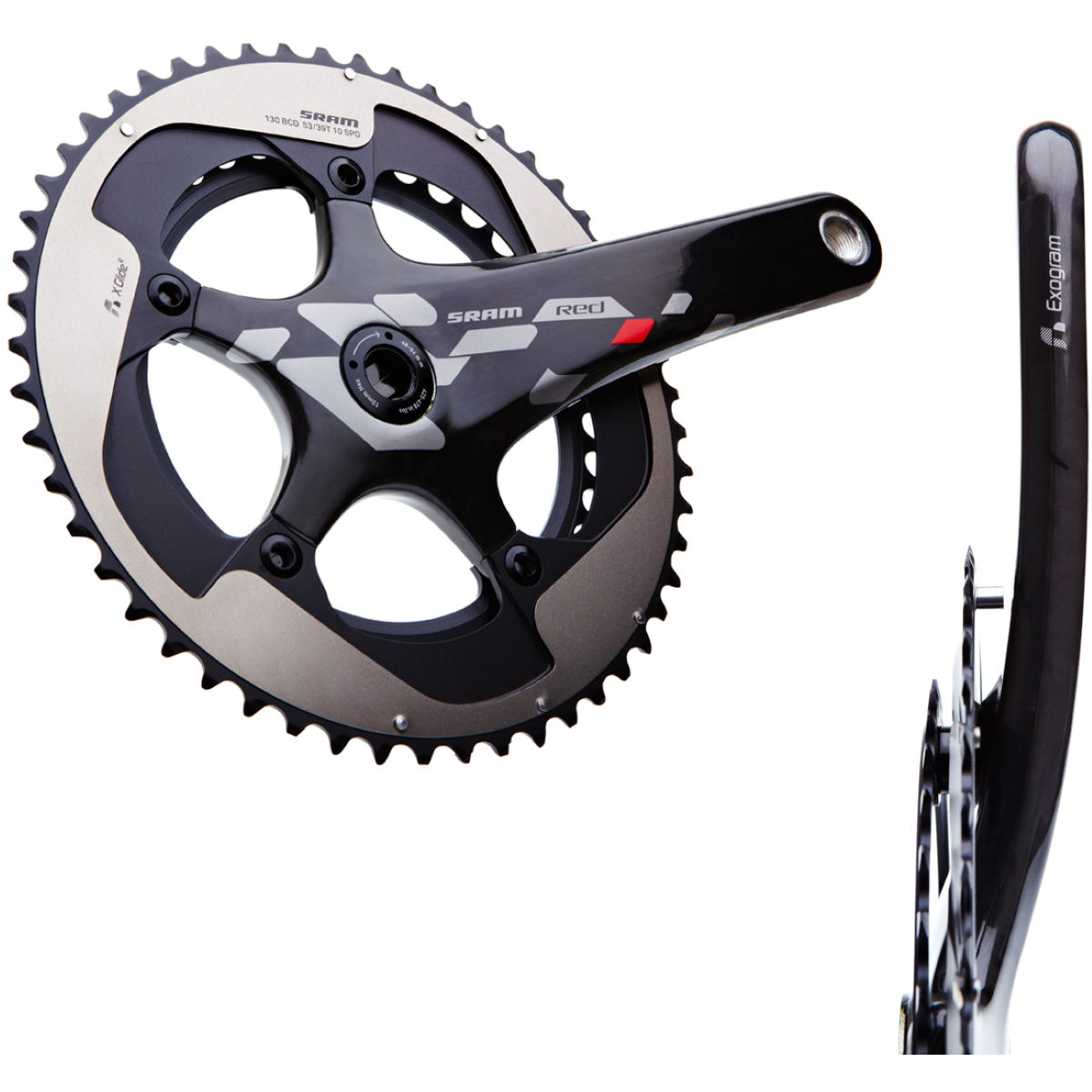 SRAM Red Exogram BB30 Double Chainset